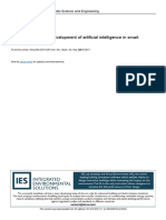 The Application and Development of Artificial Inte