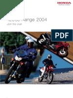 Honda 125 RANGE 2004