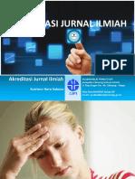 Materi OJS Tentang Akreditasi Jurnal Ilmiah