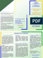 Corso Dinamiche Di Gruppo e Tecniche Di Conduzione