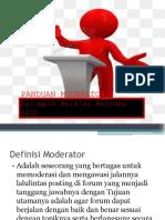 Panduan Moderator