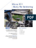 Cg13de Throttle Body Resoldering Guide