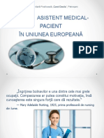 Relatia Asistent Medical-pacient