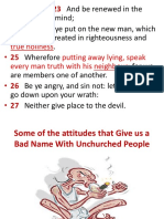 5 Things That Give Us a Bad Name With Unchurched People