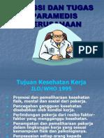Fungsi Dan Tugas Paramedis
