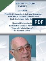 Pancreatitis Aguda. Parte I