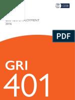 Gri 401 Employment 2016