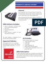 ISUZU Diagnostic Tool-brochure