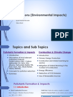 Emissions and Its Impact