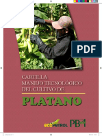 Manejo Tecnológico Del Cultivo de Plátano