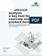 Should Cost Analysis a Key Tool for Sourcing and Product Designers