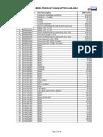 Beml Price List Moil_pl27e (1)