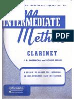 Clarinet (Rubank Intermediate Method)