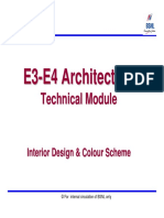 E3-E4 Arch Chapter-4 Interior Design & Color Scheme
