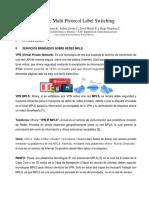 VPN MPLS Monografía Planes