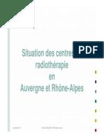 03 - Situation Des Centres en Auvergne Et Rhône-Alpes