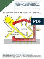 O Edificio Como Maquina Energetica