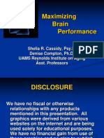 UAMS Cassidy Maximizing Brain Performance 10272011.pdf