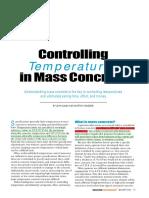 Mass Concrete
