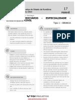 Prova Analista Judiciário - Eng.Civil - TJ-RO - 2015