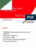 14 Pertamina CBM Project in South Sumatra