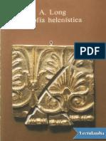 Long Anthony a. La Filosofia Helenistica.