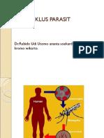 DEFINISI, SIKLUS PARASIT MALARIA.ppt