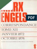 Marx & Engels - Correspondance - Tome 12 - Janvier 1872-Octobre 1874.pdf