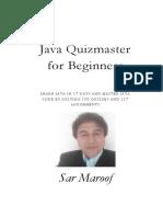 Java Quizmaster for Beginners