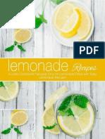 Lemonade Recipes a Juice Cookbook Focused Only on Lemonade Filled With Easy Lemonade Recipes