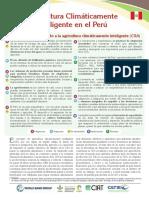 Agricultura Climaticamente Inteligente en El Peru