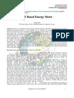 IoT Based Energy Meter