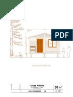 Plano Casa Prefabricada Madera