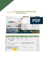 Cómo Llenar Adecuadamente El PDT 706 Anual 2017