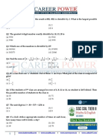 Free Mock Test Ssc Cgl Tier2 Quant Question