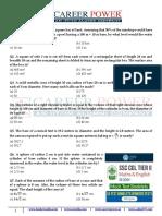 Mensuration Part 2 30 Questions