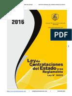 LEY N° 30225_LEY DE CONTRATACION Y RGTO 2016