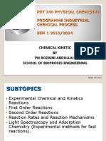 WEEK 11 Chemical Kinetics-1