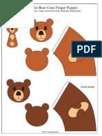 Cone Finger Bear Clr