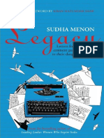 Legacy Letters From Eminent Pa - Sudha Menon