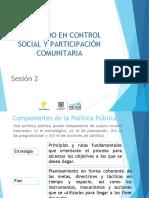 Componentes de La Politica Publica