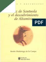 Sanz de Sautuola y El Descubrimiento de Altamira Consideraciones Sobre Las Pinturas 0