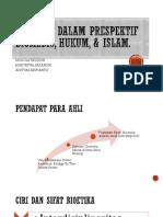 Bioetika Dalam Prespektif Biomedis, Hukum, Islam - Copy