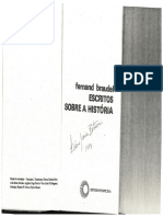 Texto Longa Dur.-tempo Hist., F. Braudel
