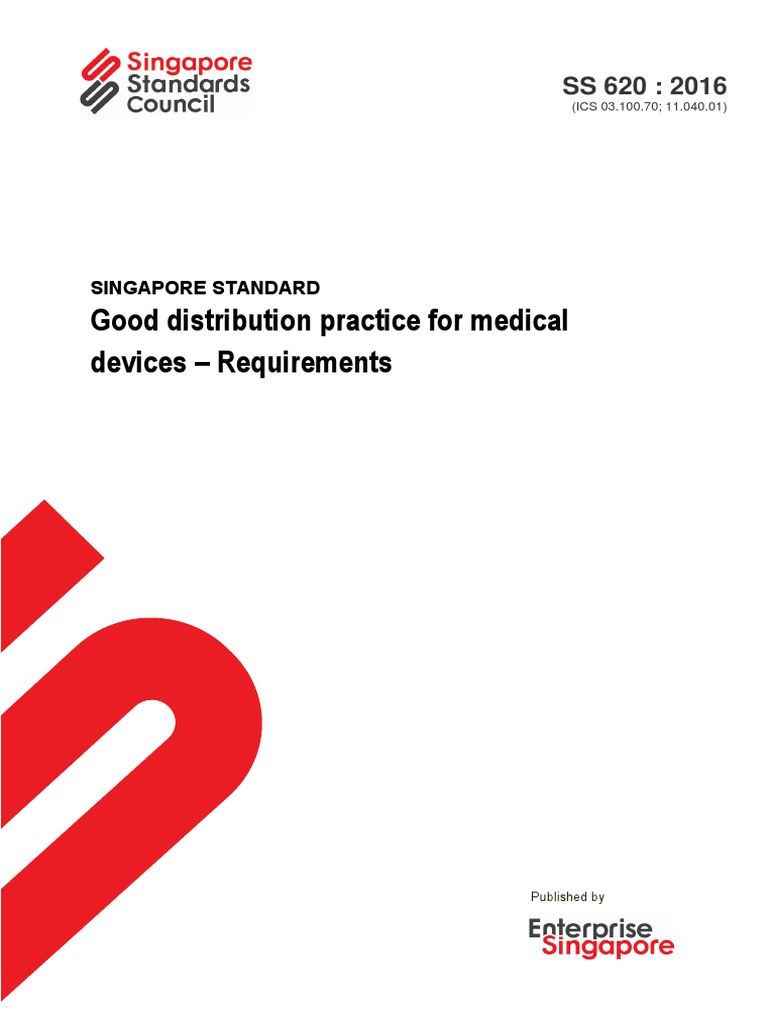 SS 620-2016_Preview | Medical Device | Warehouse