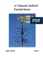 St Giles Church, Oxford - July 2018 Parish News
