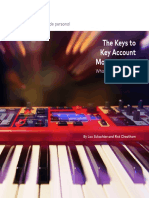 Sales White Paper the Keys to Key Account Management
