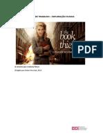 FICHA de TRABALHO - Proposta - A Menina Que Roubava Livros