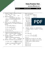Practice Test Functions