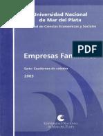 Empresas Familiares 2003 UNMDP LibrosVirtual.com